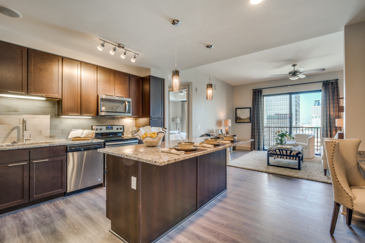 Apartment Layout at The McCarthy Apartments in Memorial City Houston