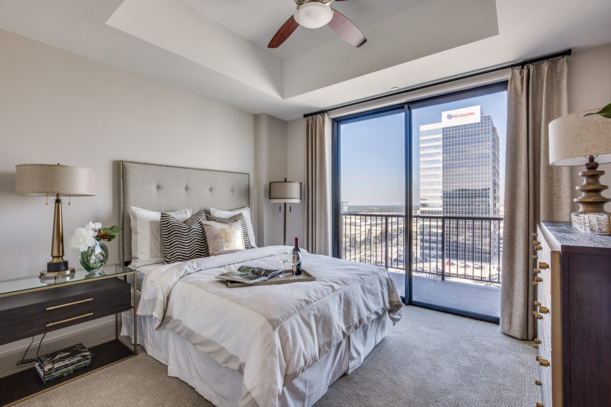 Beautiful Views at The McCarthy Apartments in Memorial City Houston