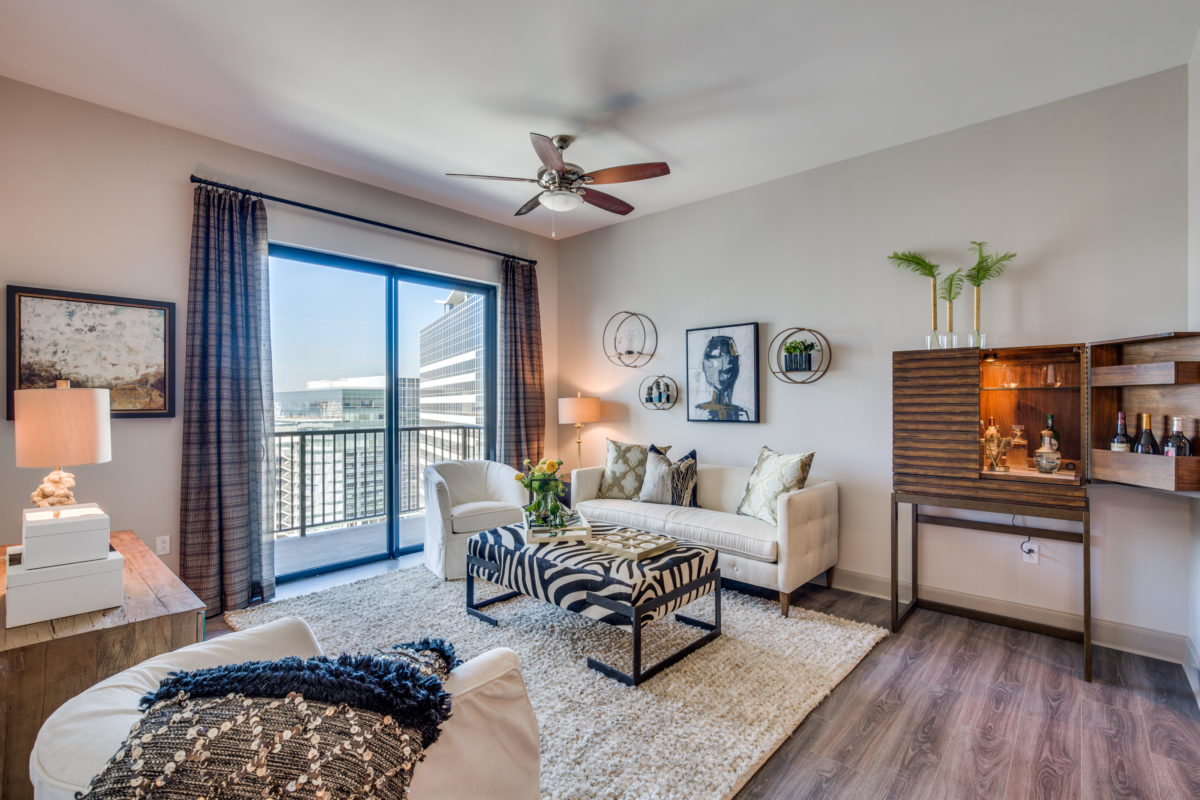 Couches at The McCarthy Apartments in Memorial City Houston