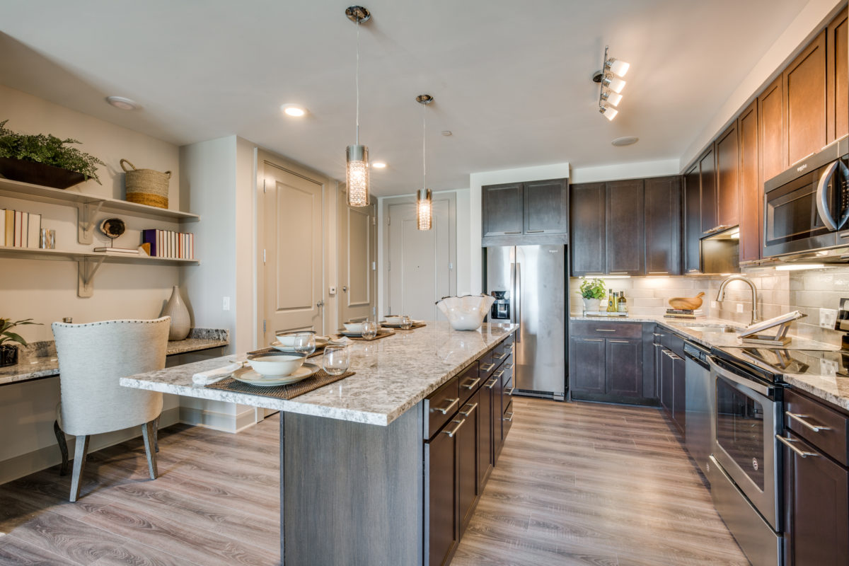 Luxury Kitchens at The McCarthy Apartments in Memorial City Houston