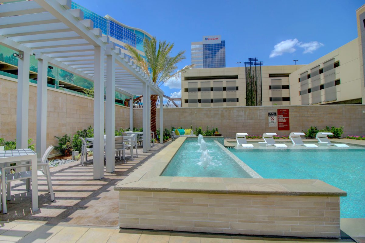 Pool and spa at The McCarthy Houston